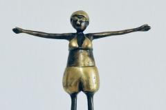 Turmspringerin - 24cm hoch